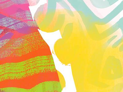 Pattern Exploration art bright watercolor concept pattern