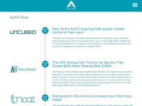 Alice Press Page