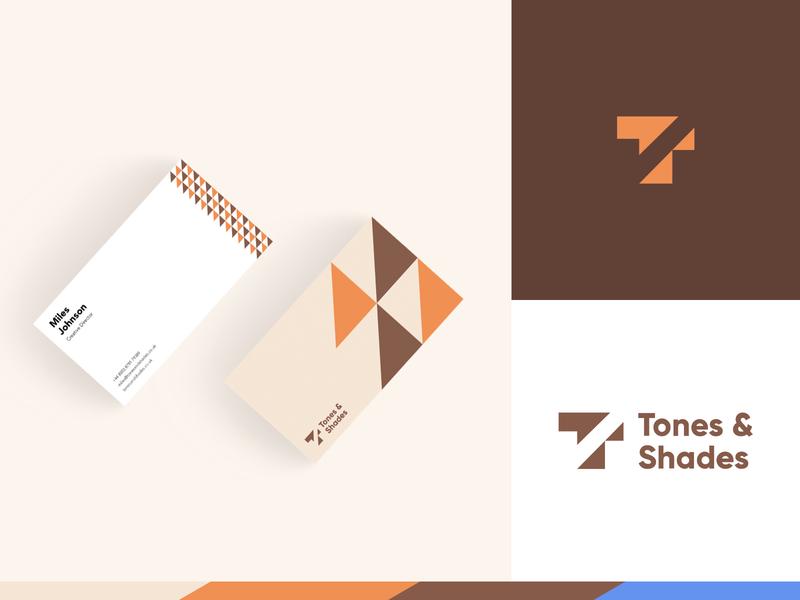 Tones & Shades - Business Card Design