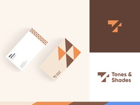 Tones & Shades - Business Card Design businesscard design system london identity branding identity design branding logo