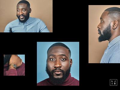 Black & Proud #BlackLivesMatter 🤲🏿✊🏿 typography web landing page ux design portfolio branding animation web design ui design equality black people diversity black london