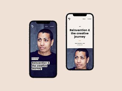 Tones & Shades - Brand Identity Recap ux design ui magazine digital magazine identity design identitydesign london web design branding ui design