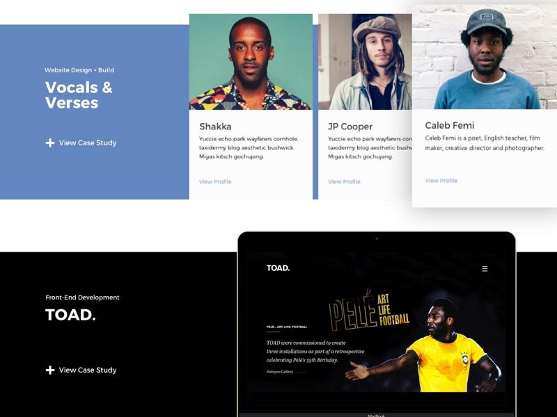 Portfolio Thumbnails Experiement card trial and error experiment thumbnail design design app sketch portfolio ui design ux ui