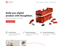 Thoughtbot.co.uk home mockup