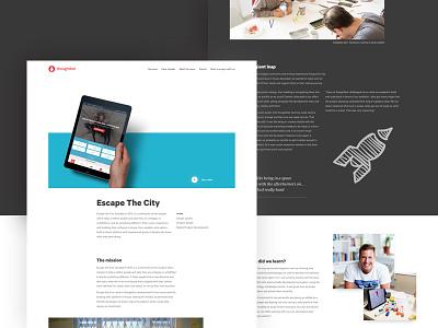 Case Study Design portfolio layout design case study landing page ux design ux ui ui design web web design