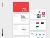 Brand guidelines dribbble