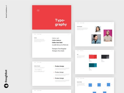 WIP - thoughtbot Brand Guidelines london brand guide guidelines clean web design ux design ui design ui design identity design brand identity brand design branding brand
