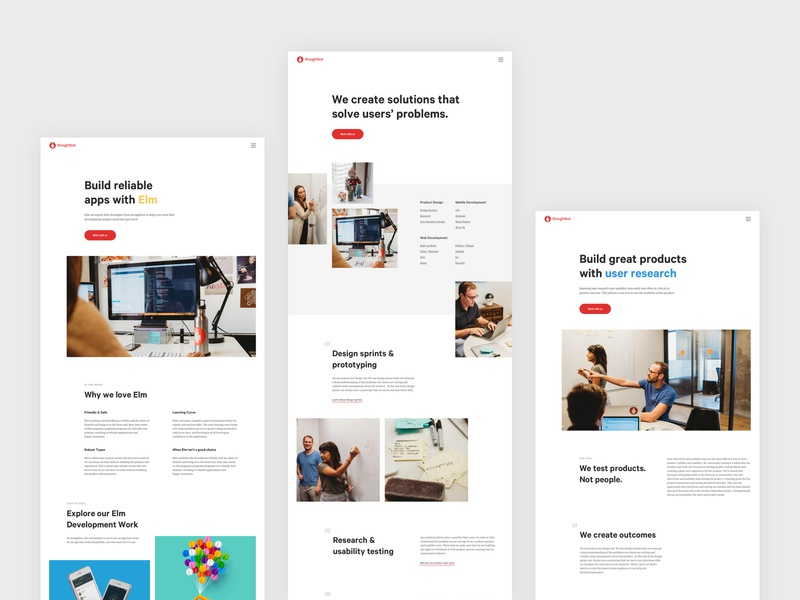Services Pages Redesign redesign agency web services ux ui ux design landing page web design ui design