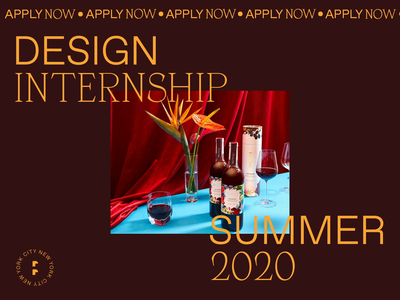 Design Internship 2020 digital marketing motion webdesign new york city internship design designer design intern