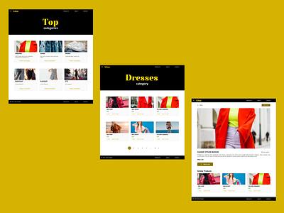 User Interface Design for GlowStopper branding ux ui