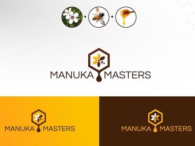 Manuka Masters Logo Design