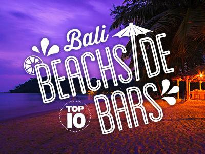 Bali Top 10 typography