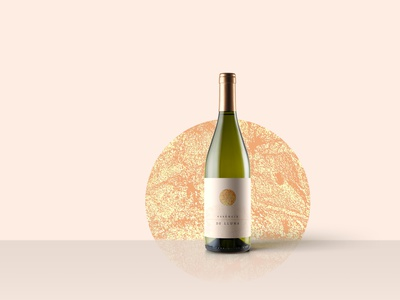 Wine Label Design wine bottle essence minimal moonlight label packaging label wine wine label