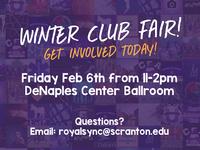Scranton Club Fair Flyer