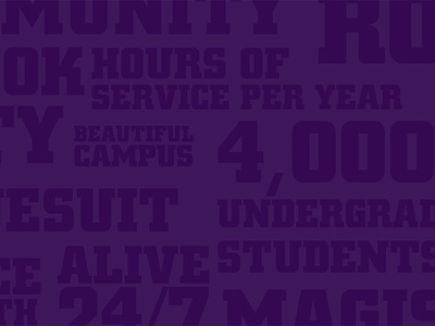 The University of Scranton Cover Photo fun words purple collage scranton