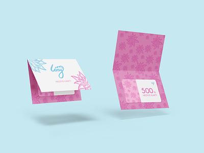 Gift Check Card Design ui motion graphics animation 3d branding logo graphic design gift check card design