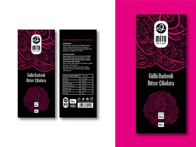 Chocolate Packaging Design branding packaging chocolate illustration black design great popular pattern cafe