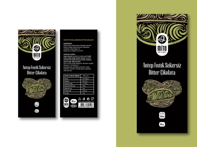 Chocolate Packaging Design packaging bitter pistachio hazelnut love dribbble very cool happy pattern great popular cholocolate cafe illustration design black logo graphic design branding