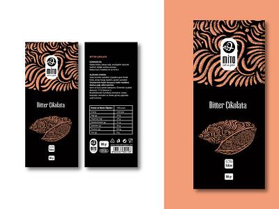 Chocolate Packaging Design animation 3d chocolate pattern great popular cafe illustration design black logo graphic design branding