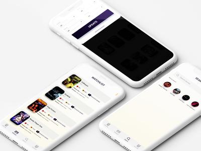 Online movie streaming app