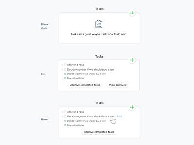 Tasks flow icon hover list monica saas task flow task
