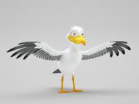 Sea-gull model