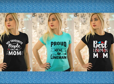 Mom love t-shirt Design.