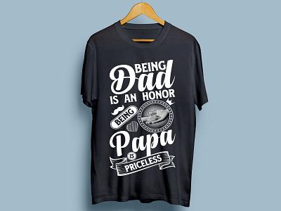 Dad tshirt Design tshirt design illustration typography illustrator graphic design