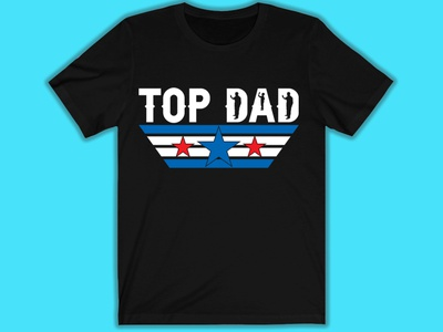DAD Top Tshirt Design design illustrator branding illustration typography mommy pappa son amazone father dad graphic design tshirtdesign tshirt