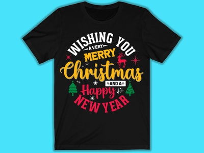 Merry Chrismas Day T-shirt design design illustrator minimal logo branding illustration vector etsy pod amazone typography graphic design tshirtdesign tshirt
