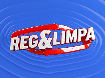 Reg&Limpa Logo logo branding cleanings batteries