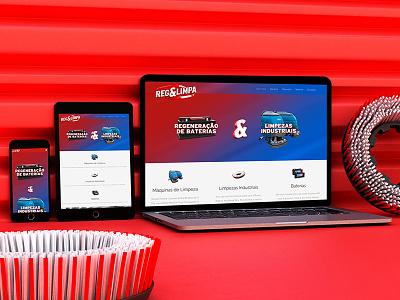 Reg&Limpa Website website webdesign responsive