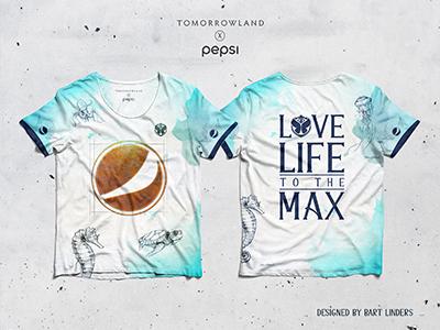 Tomorrowland x Pepsi Shirt