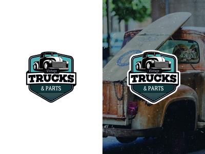 Vintage Trucks & Parts logo