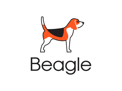 Beagle Sense logo identity design branding logo