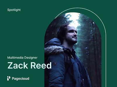Spotlight - Zack Reed website builder interview designer pagecloud
