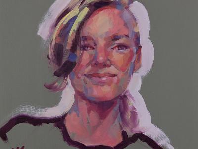 SP 013 Tiana art painting social portraits