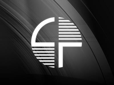 Saturnfly typography branding art deco design logo