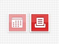 calendar/print buttons