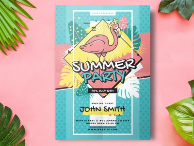 Summer Flyer Party Template party flyer party flyer design ideas flyer designer flyer design template flyer designs flyer templates flyer template flyer design flyer poster template print design poster design posters poster print template print summer flyer party summer flyer summer