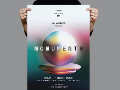 Monument Poster / Flyer flyers templates flyers template flyer design flyer templates flyer template flyers flyer advertising poster templates posters design posters templates posters template poster design posters poster template poster print template print design printing print