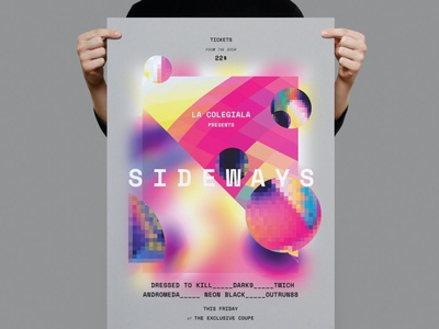 Sideways Poster / Flyer flyers templates flyers template flyer design flyer templates flyer template flyers flyer advertising poster templates posters design posters templates posters template poster design posters poster template poster print template print design printing print