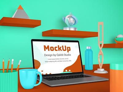 MacBook Desktop Mockups website web ux ui presentation theme mac laptop display simple clean realistic phone mockup smartphone device mockup phone abstract dekstop macbook