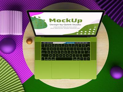 Website Top view Mockups webpage website web ux ui presentation theme macbook mac laptop display simple clean realistic phone mockup smartphone device mockup abstract phone