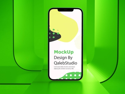 Glass Phone Mockups webpage website web ux ui presentation theme macbook mac laptop display simple clean realistic iphone smartphone device abstract phone mockup