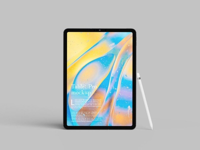 Tablet Pro Mockup webpage web ux ui presentation theme macbook mac laptop display simple clean realistic phone mockup smartphone device mockup abstract phone tablet pro