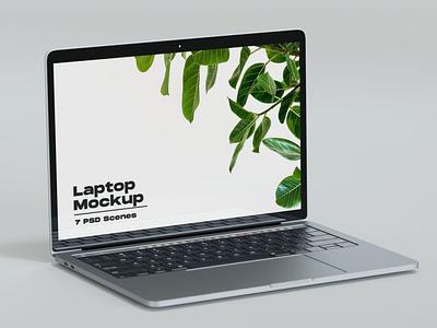 Light Iphone & MacBook Mockups website webpage web ux ui presentation theme macbook mac laptop display simple clean realistic phone mockup smartphone device mockup abstract phone