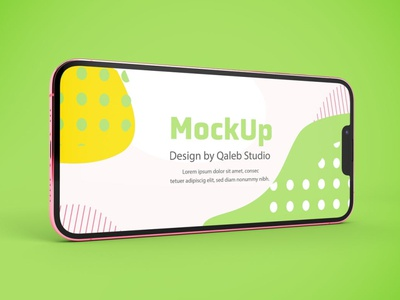iPhone 13 Mockups website webpage web ux ui presentation display simple clean realistic phone mockup smartphone device mockup abstract phone apple iphone 13 mockup iphone 13 iphone