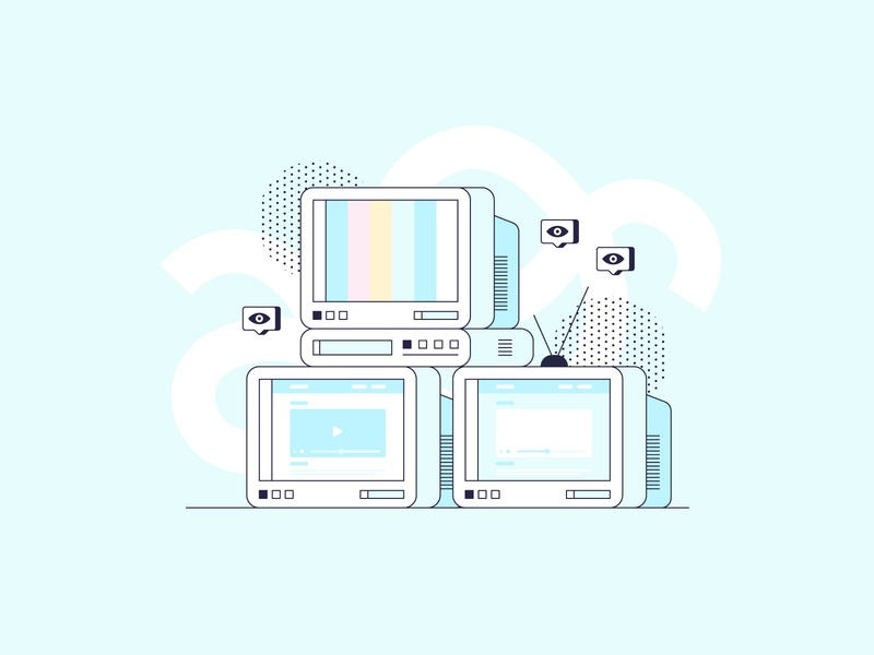 TV tutorial software texture shape color isometric video tv television