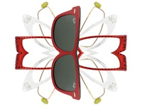Eyeglass Snowflake Illustration